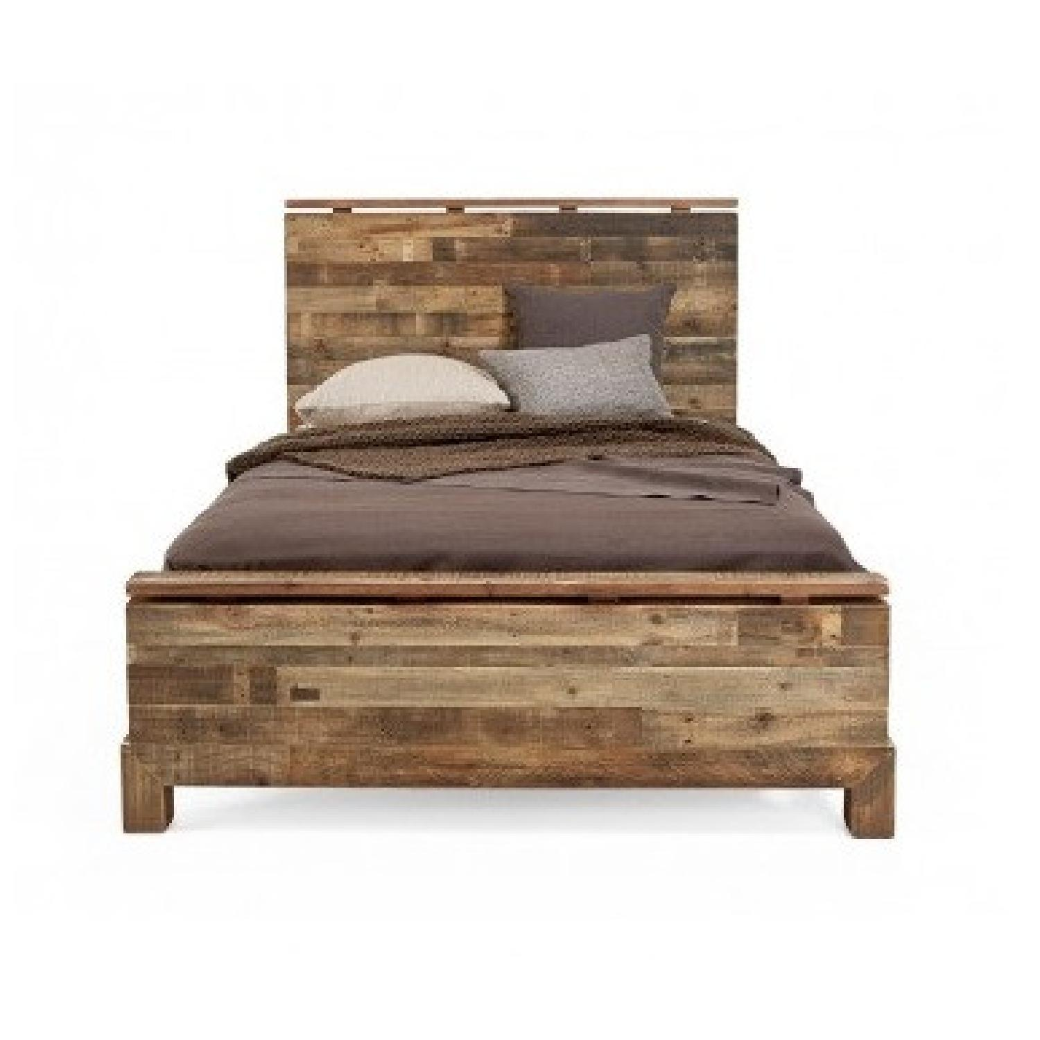 ABC Carpet and Home Reclaimed Wood Queen Bed