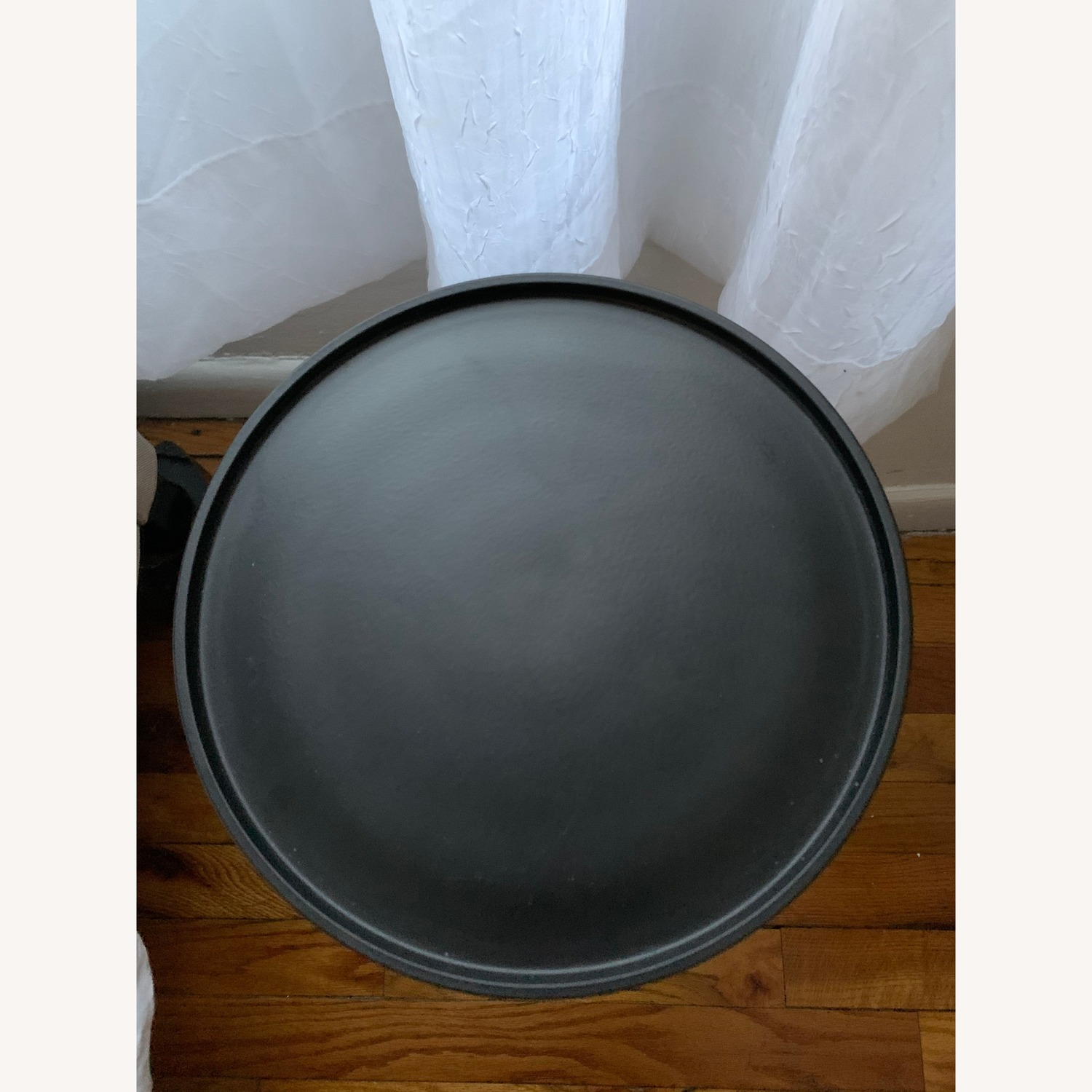 Target Londonberry Turned Metal Accent Table Black