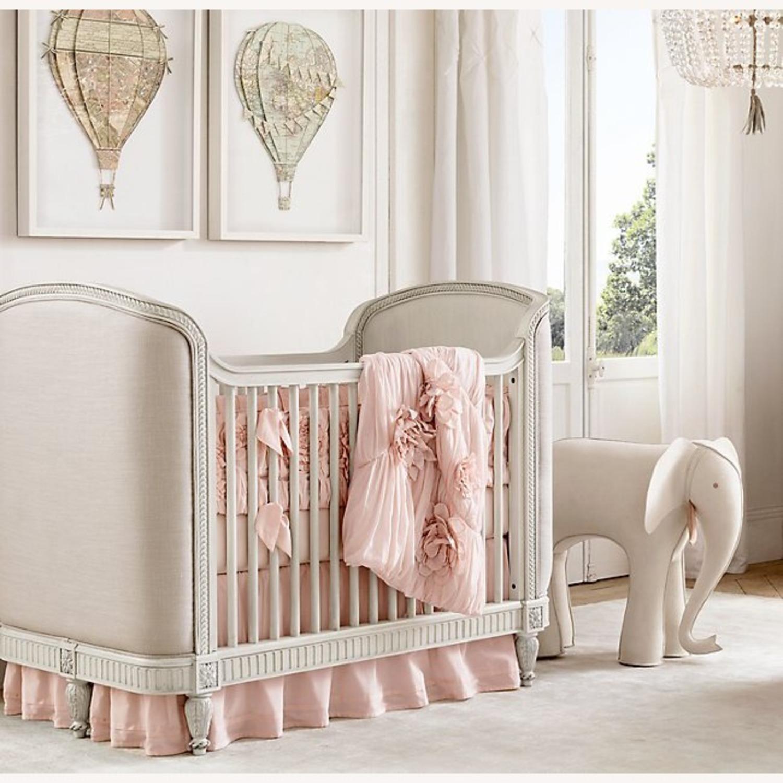 Restoration Hardware Belle Upholstered Crib