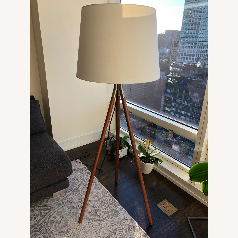 CB2 Tres Floor Lamp