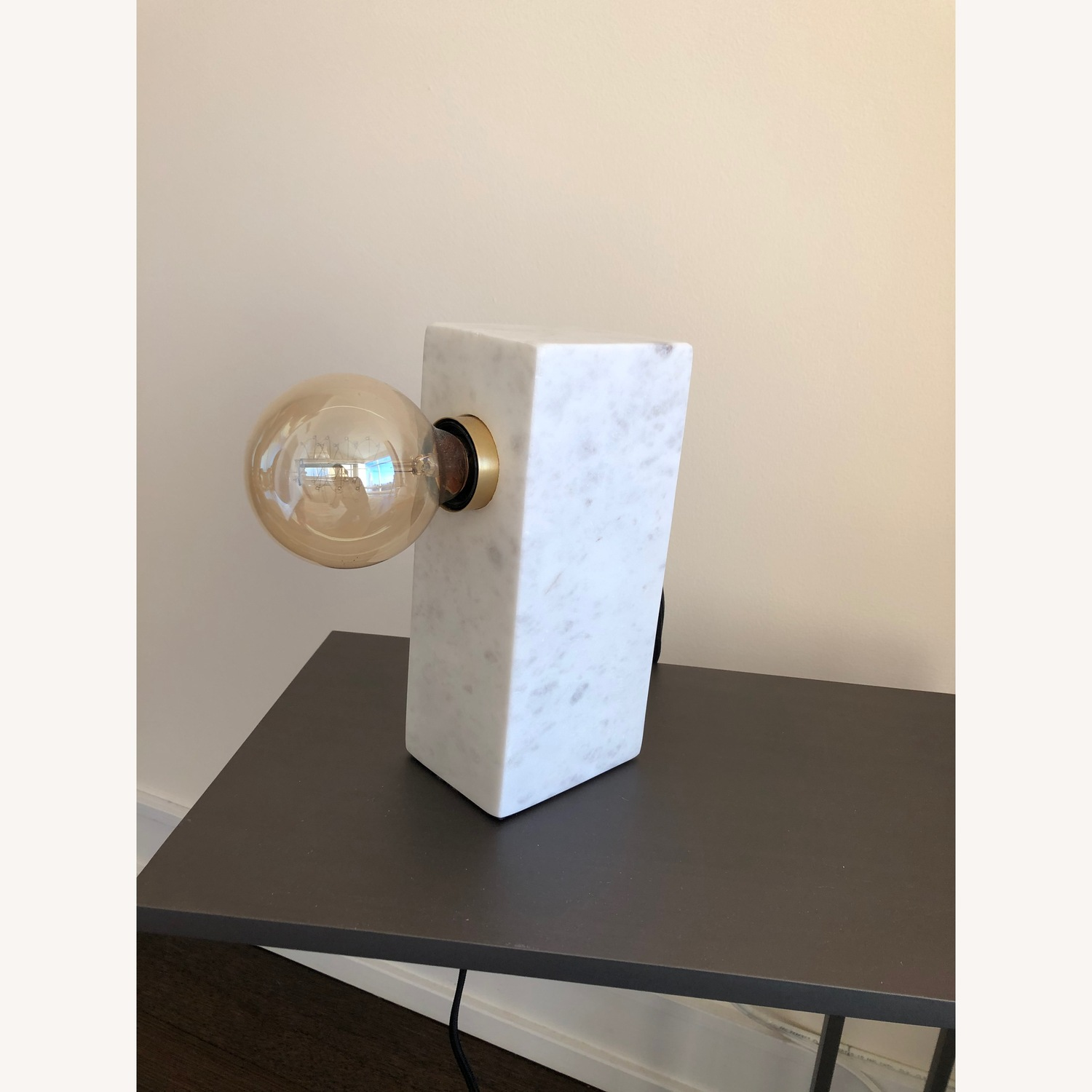 CB2 Marble Table Lamp