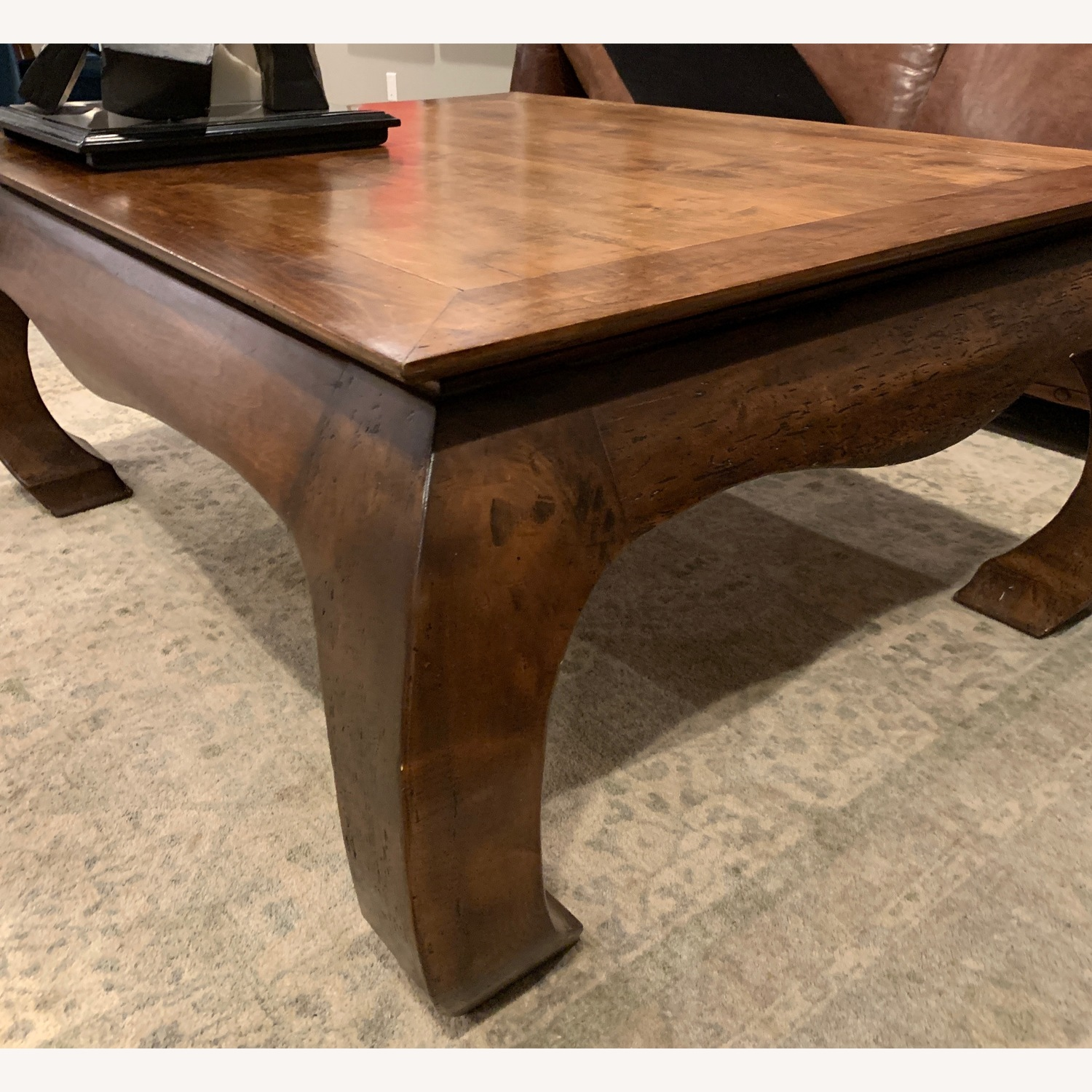 Ralph Lauren style hand-crafted maple coffee table