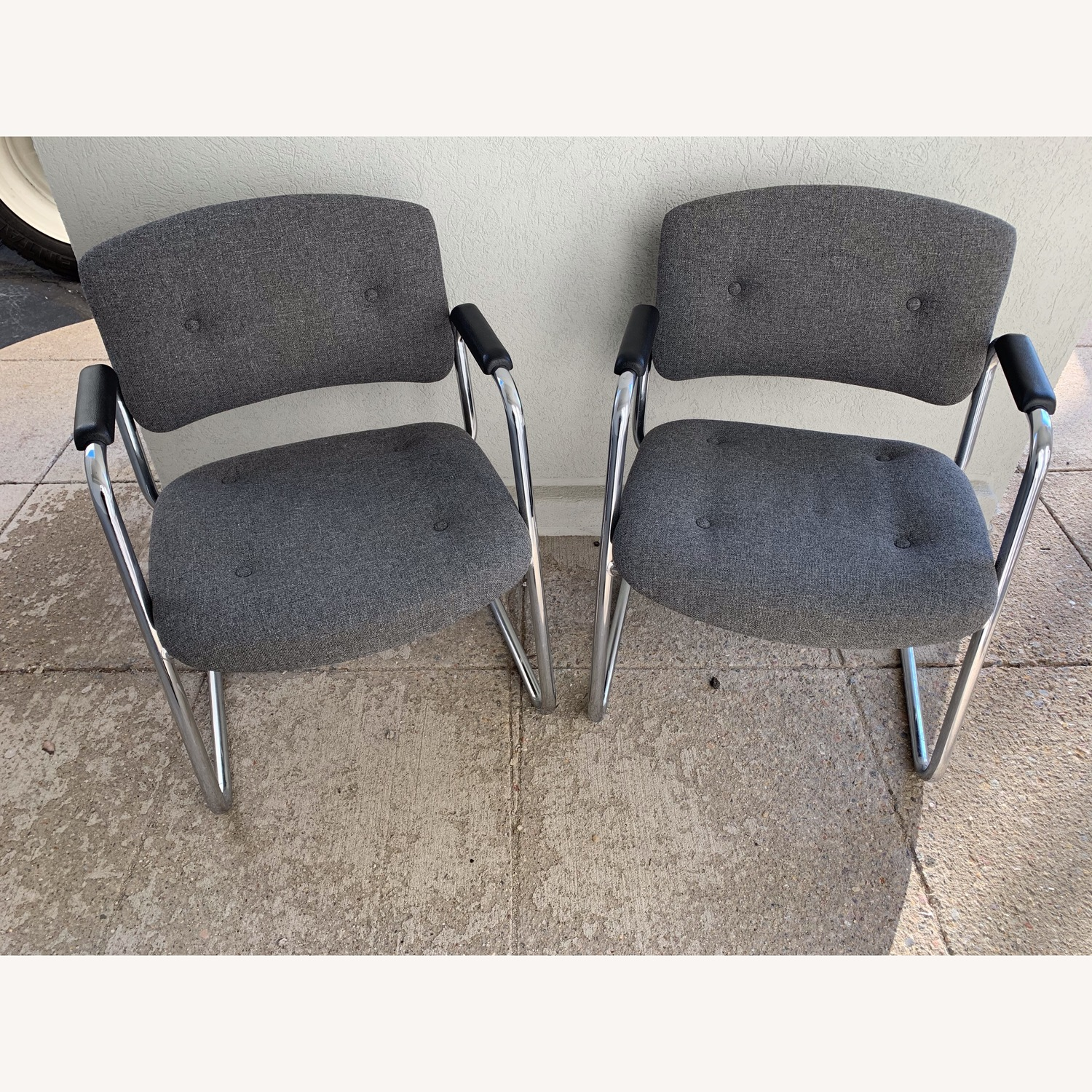 United Chair Company Cantilever Chairs - image-0