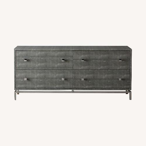 Used CB2 Shagreen Embossed Dresser for sale on AptDeco