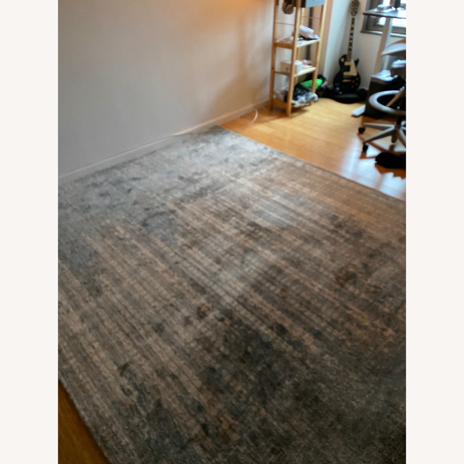 West Elm Pattern Wool Area Rug