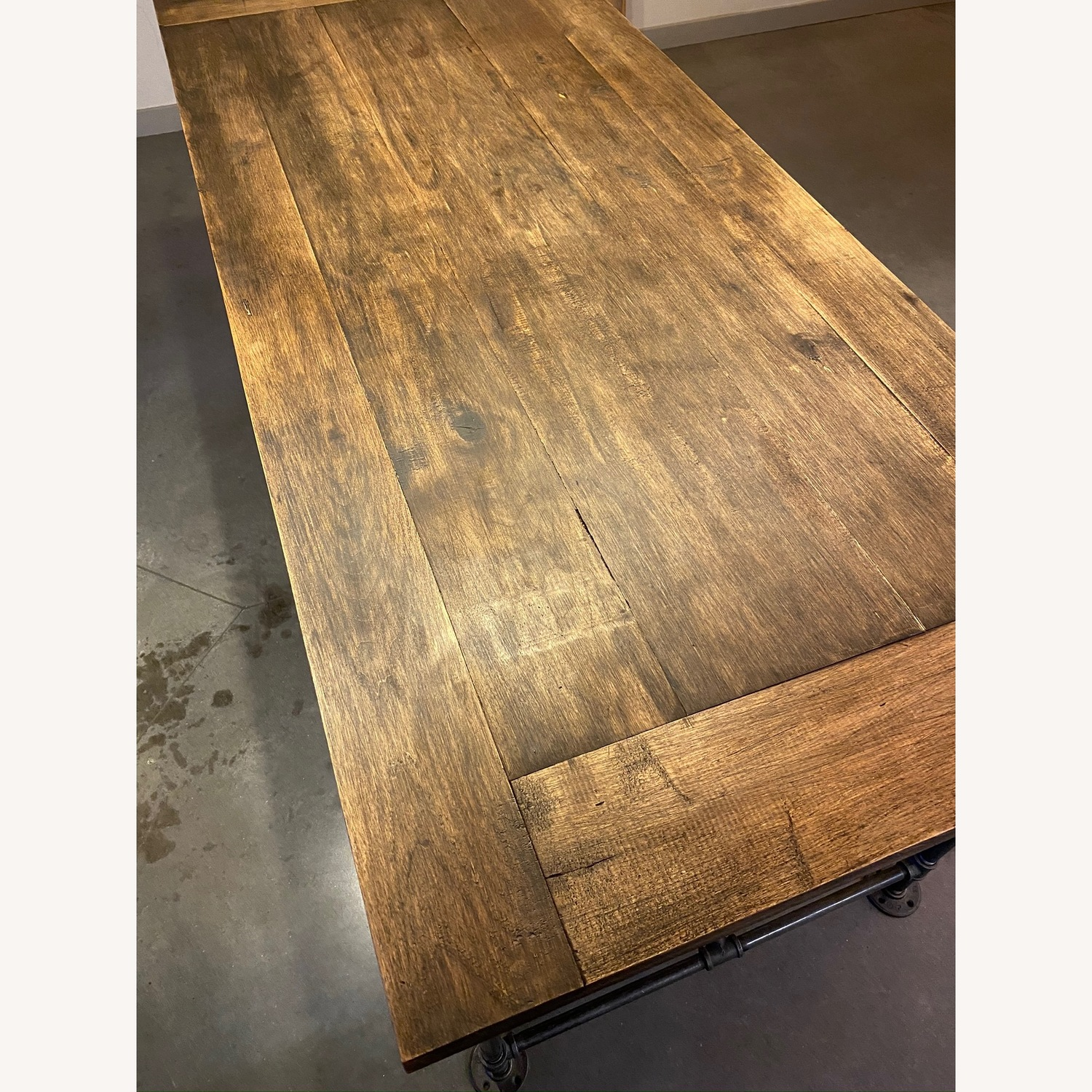 Reclaimed Wood Kitchen Table from Brooklyn Artist