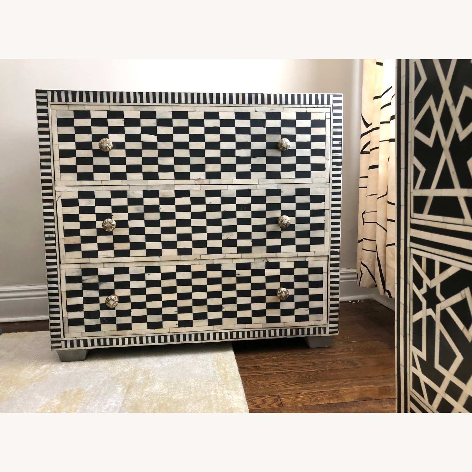 Inlay Moroccan Style Dresser