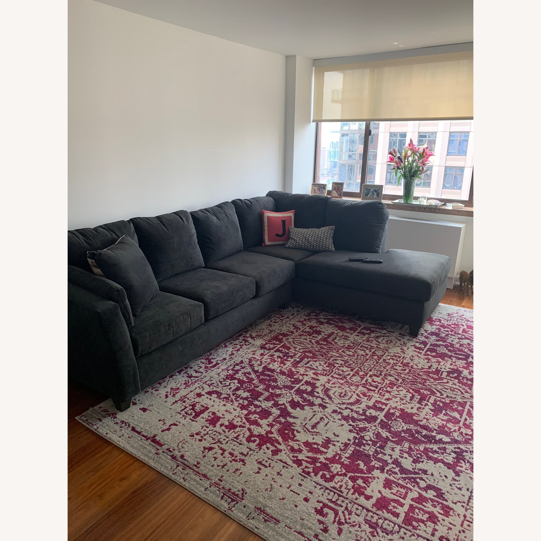 Bob's Discount Dark Grey Couch