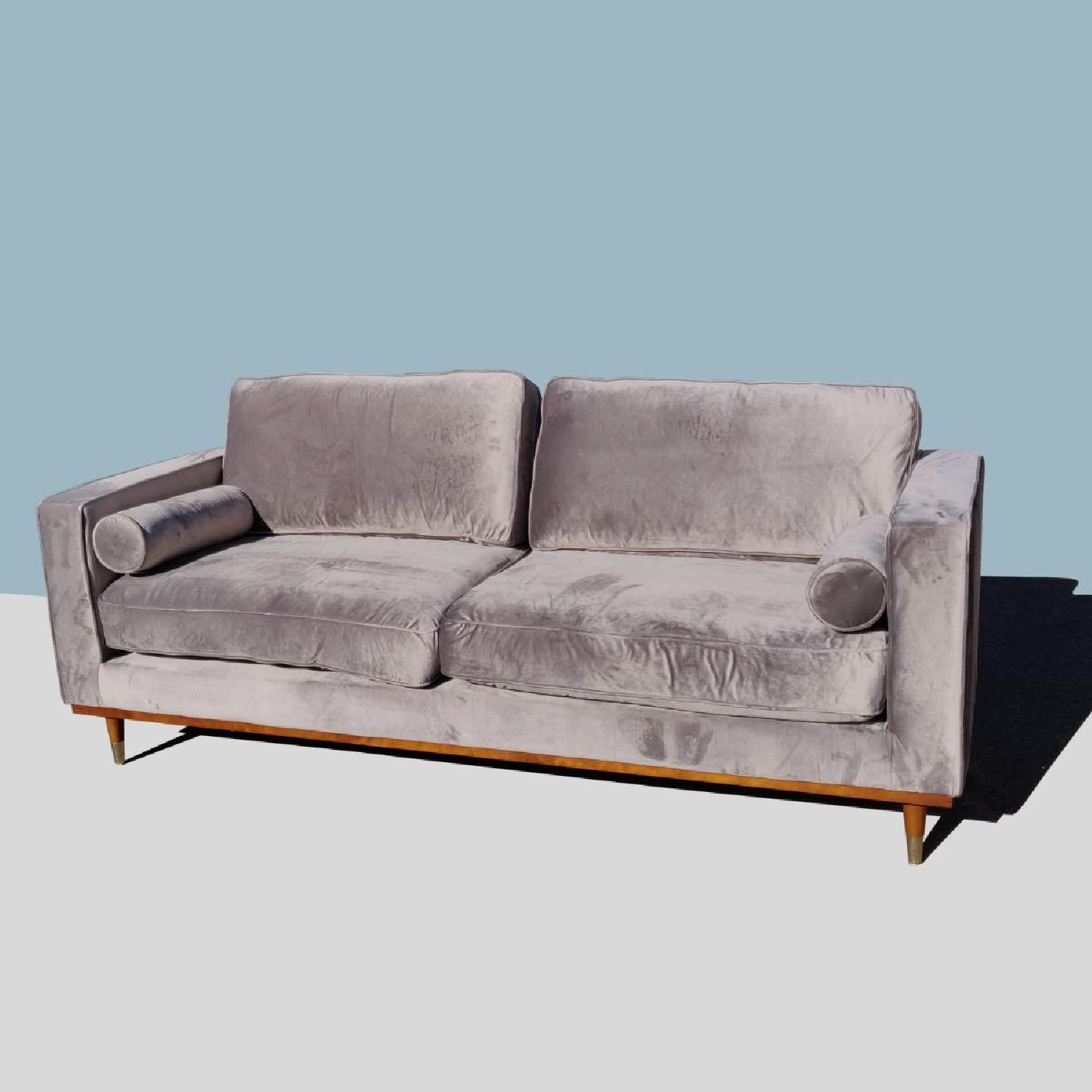 Brooklyn Space Introspect Mid-Century Modern Sofa