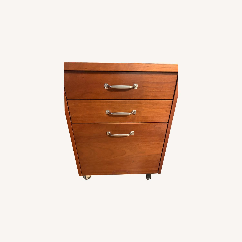 Crate & Barrel File cabinet