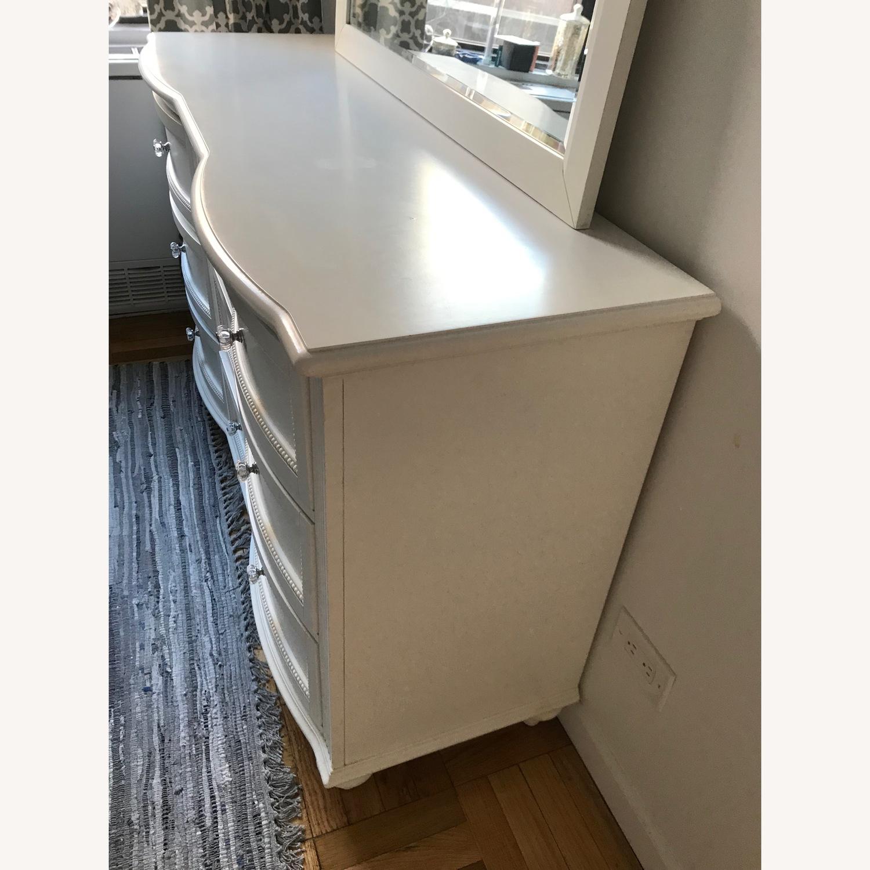 Bobs Furniture White Dresser