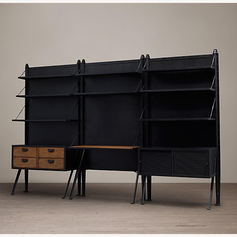 RH 3 Piece 1950s Storage Desk System