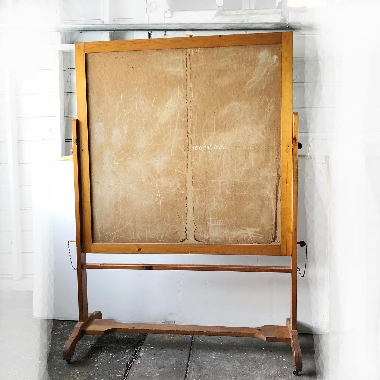 Blackboard Vintage Schoolhouse Bulletin Board