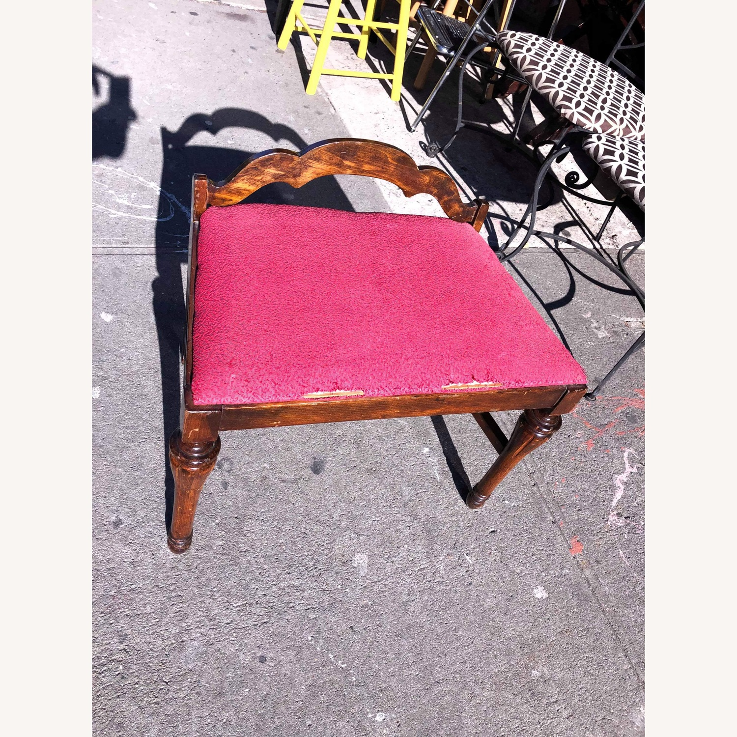 Antique 1900s Boudoir Bedroom Chair