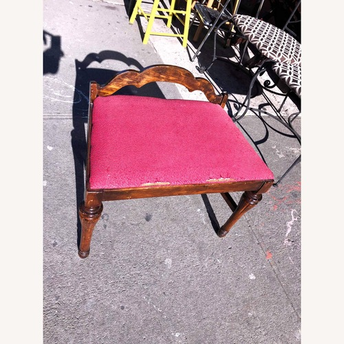 Used Antique 1900s Boudoir Bedroom Chair for sale on AptDeco