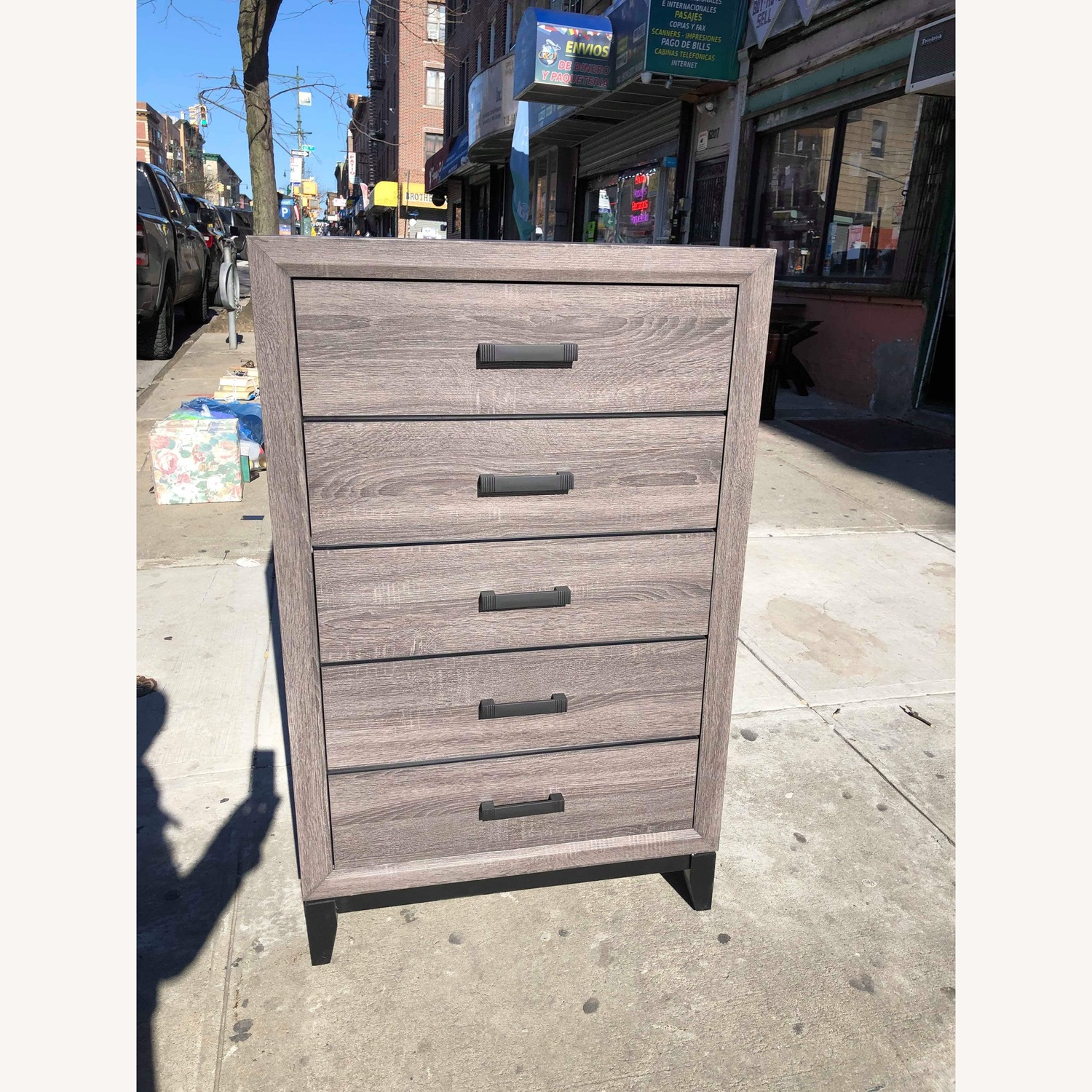 Grey 5 - Drawer Dresser