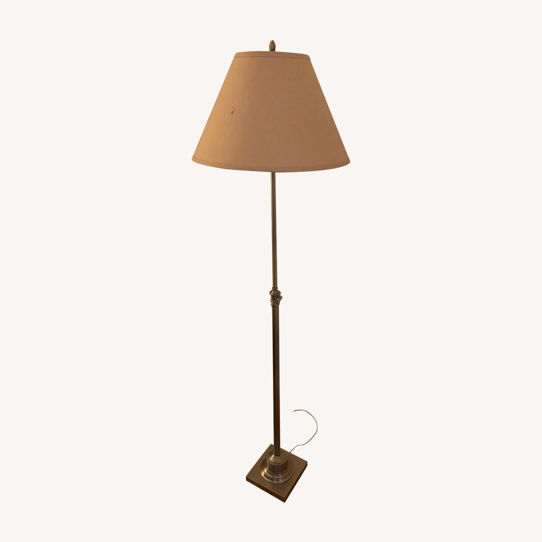Restoration Hardware Metal Column Lamp