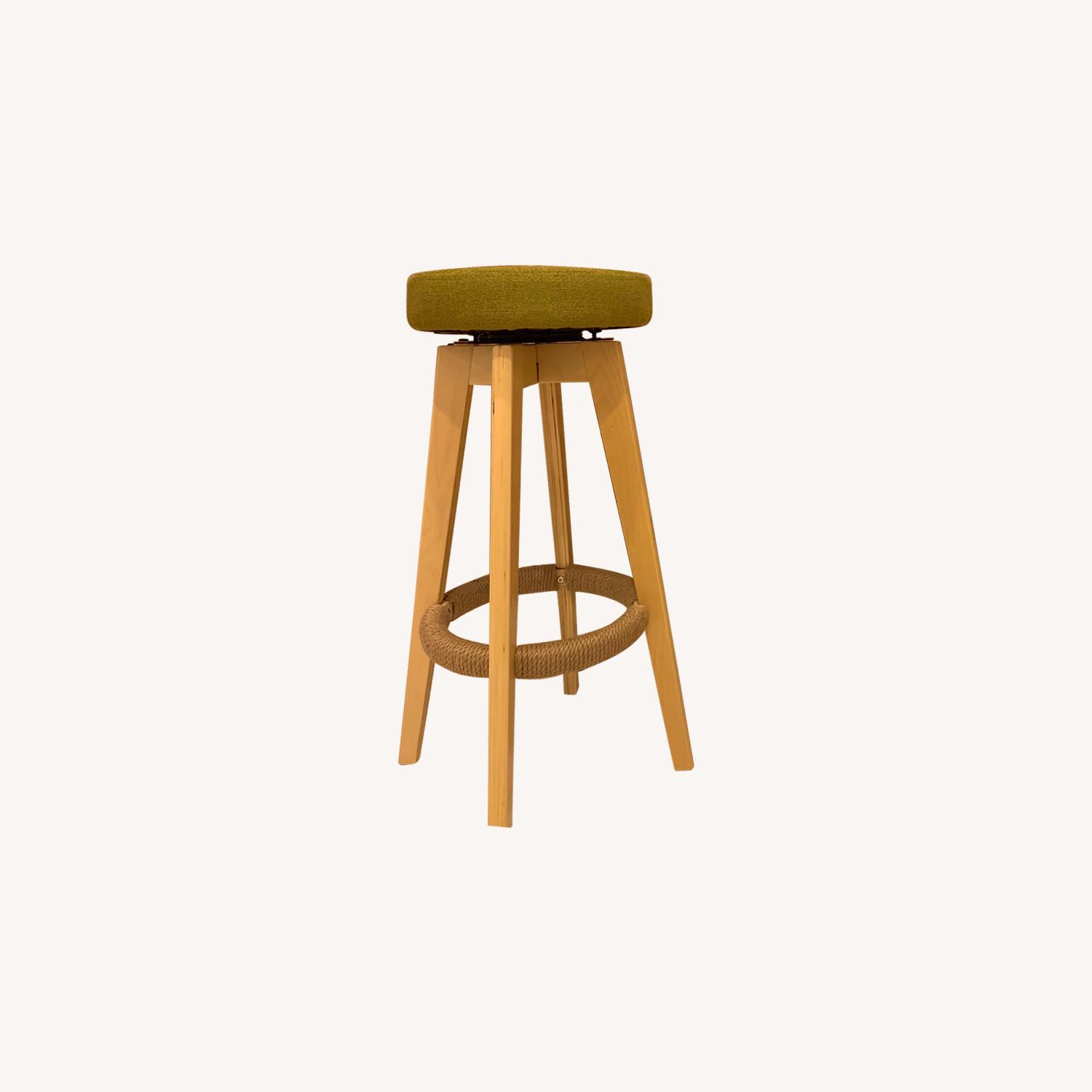 Unfinished Wooden Bar Stools