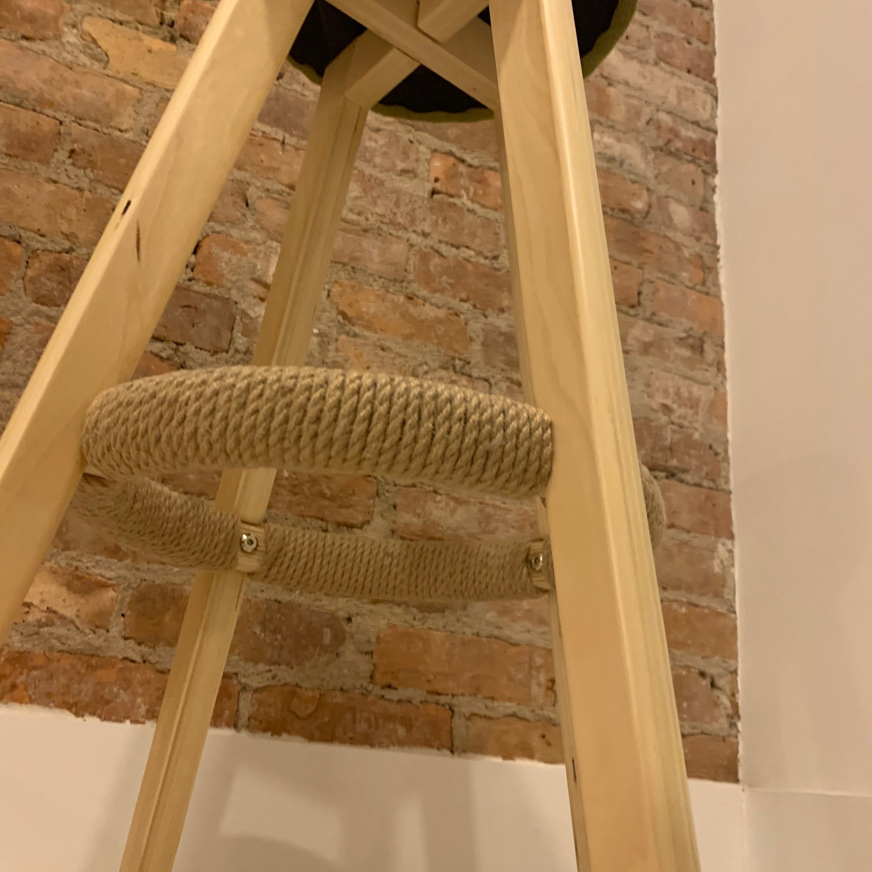 Unfinished Wooden Bar Stools - image-4