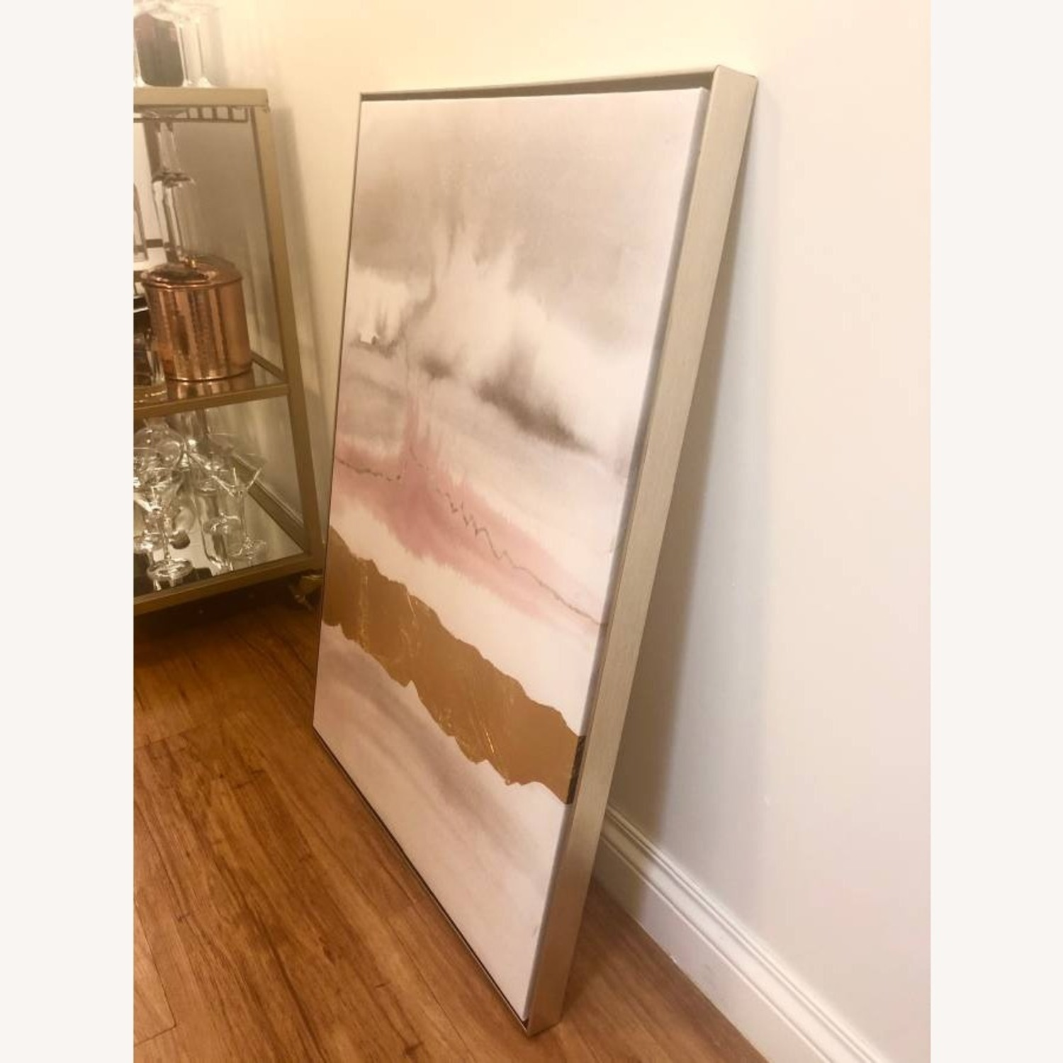 Watercolor Canvas Painting