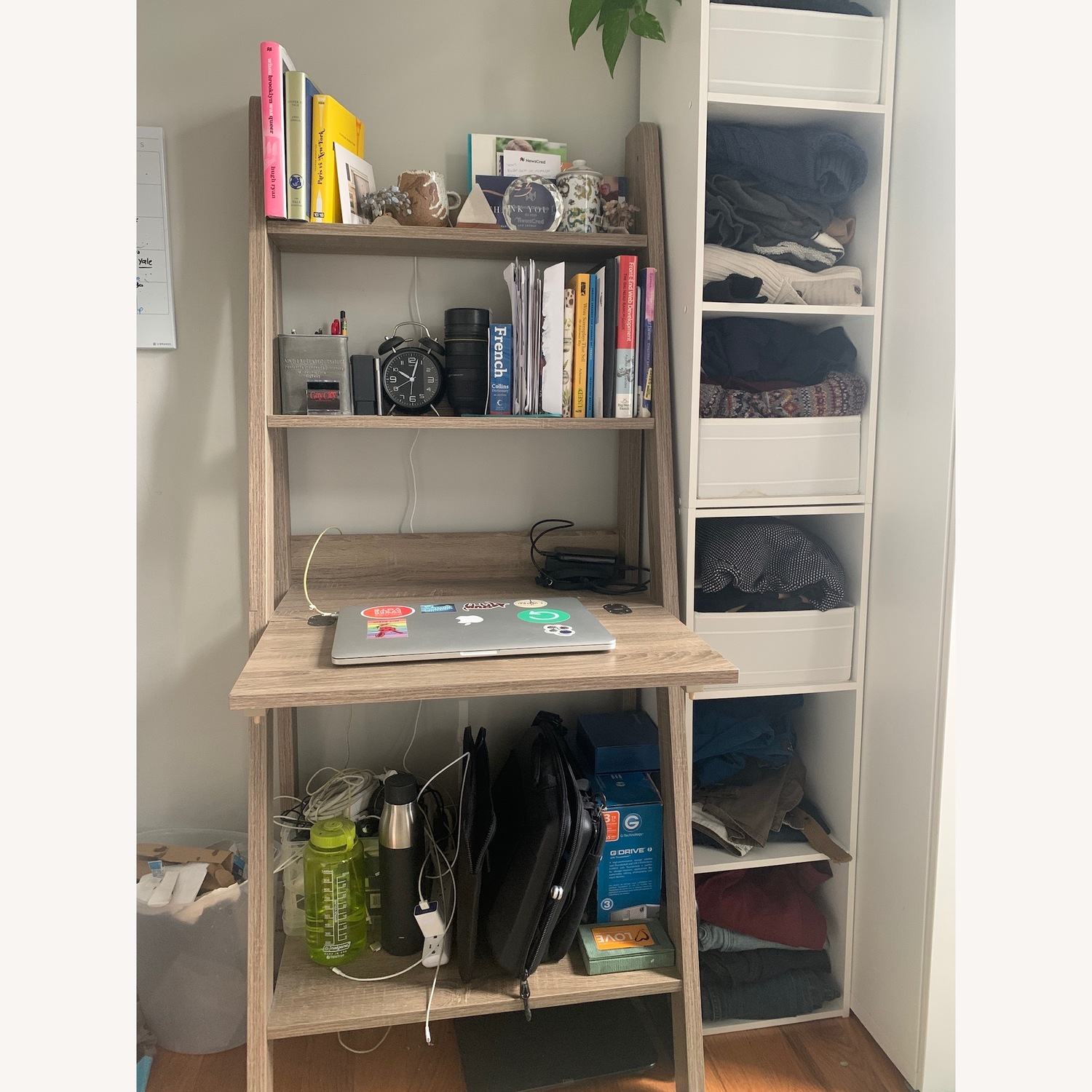 Wrought Studio Ladder Desk For Small Spaces