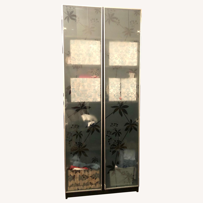 IKEA Espressso Tower with Glass Door