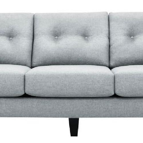 Used Raymour & Flanigan Light Gray 3-Seater Sofa for sale on AptDeco