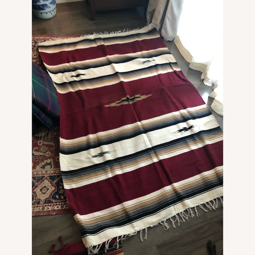 Used Authentic Navajo Area Rug for sale on AptDeco