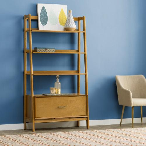 Used Wayfair Mid-Century Modern Bookcase for sale on AptDeco