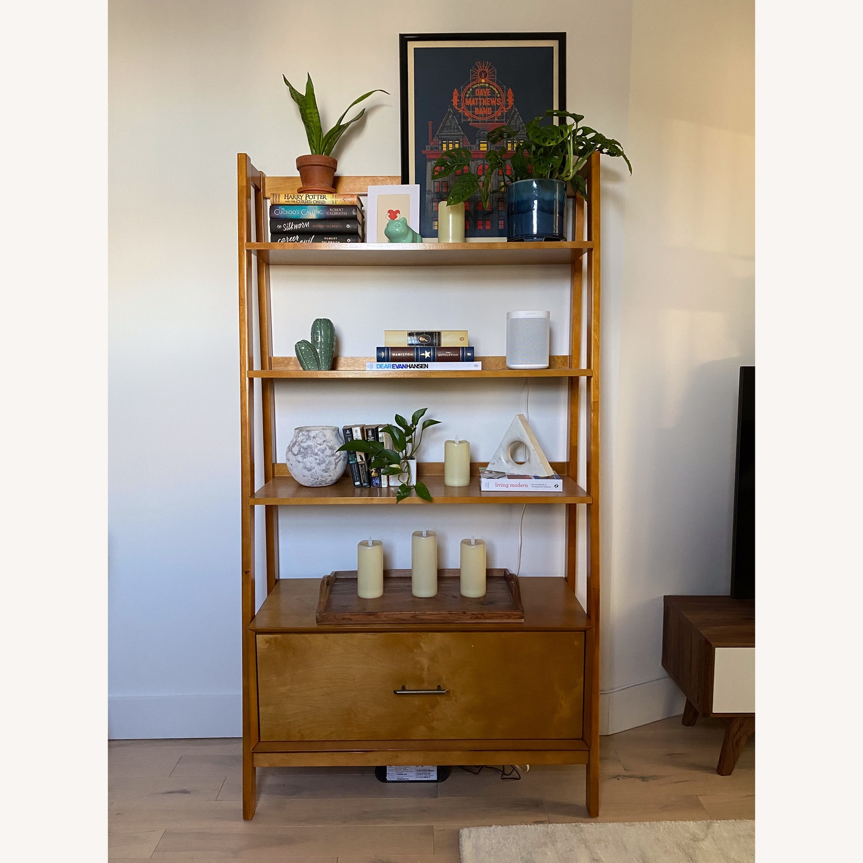Wayfair Mid-Century Modern Bookcase