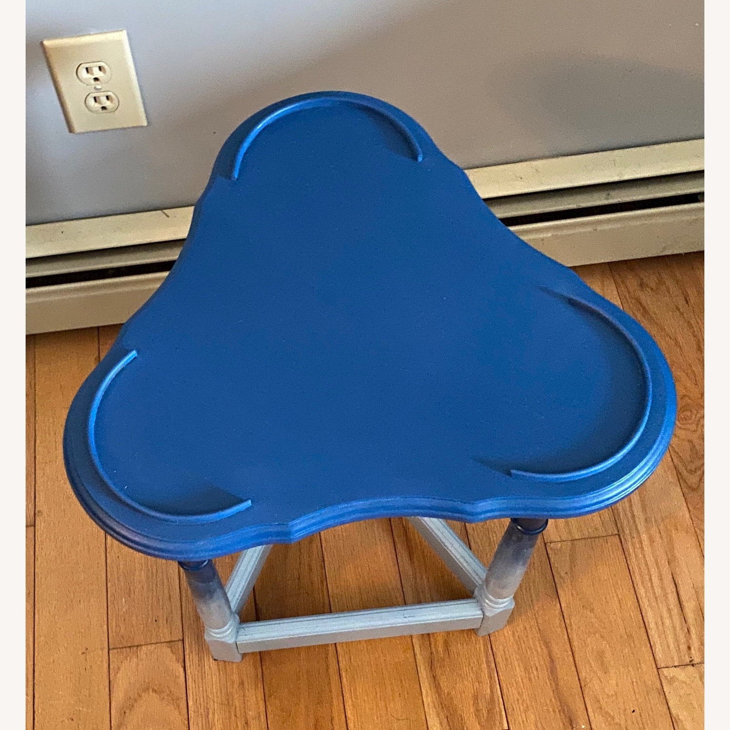 Blue Ombre Small Table/Plant Stand - image-10