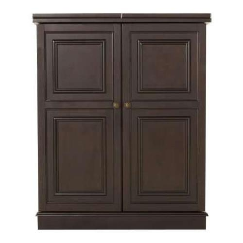 Used Raymour & Flanigan Flip-top Bar Cabinet for sale on AptDeco