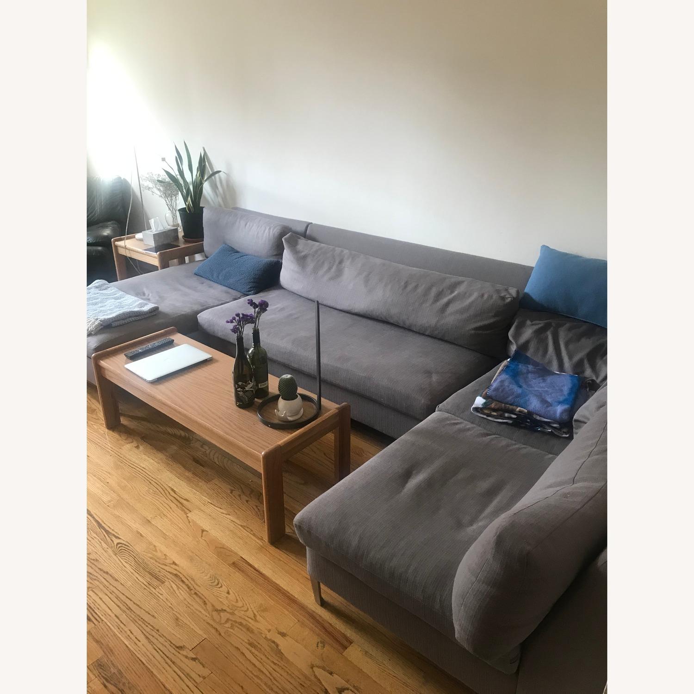 CB2 Cielo II 3-Piece Sectional Sofa