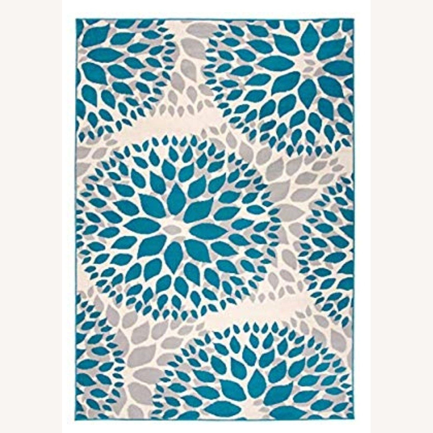 Safavieh Gray and Teal Area Rug - image-0