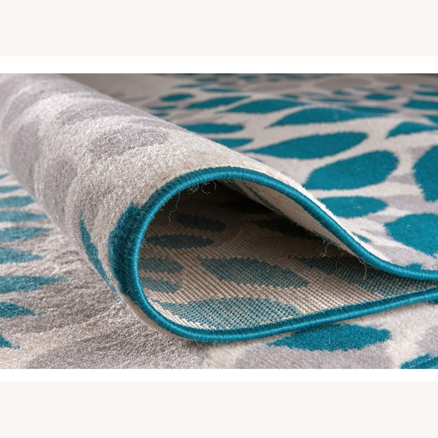 Safavieh Gray and Teal Area Rug - image-2