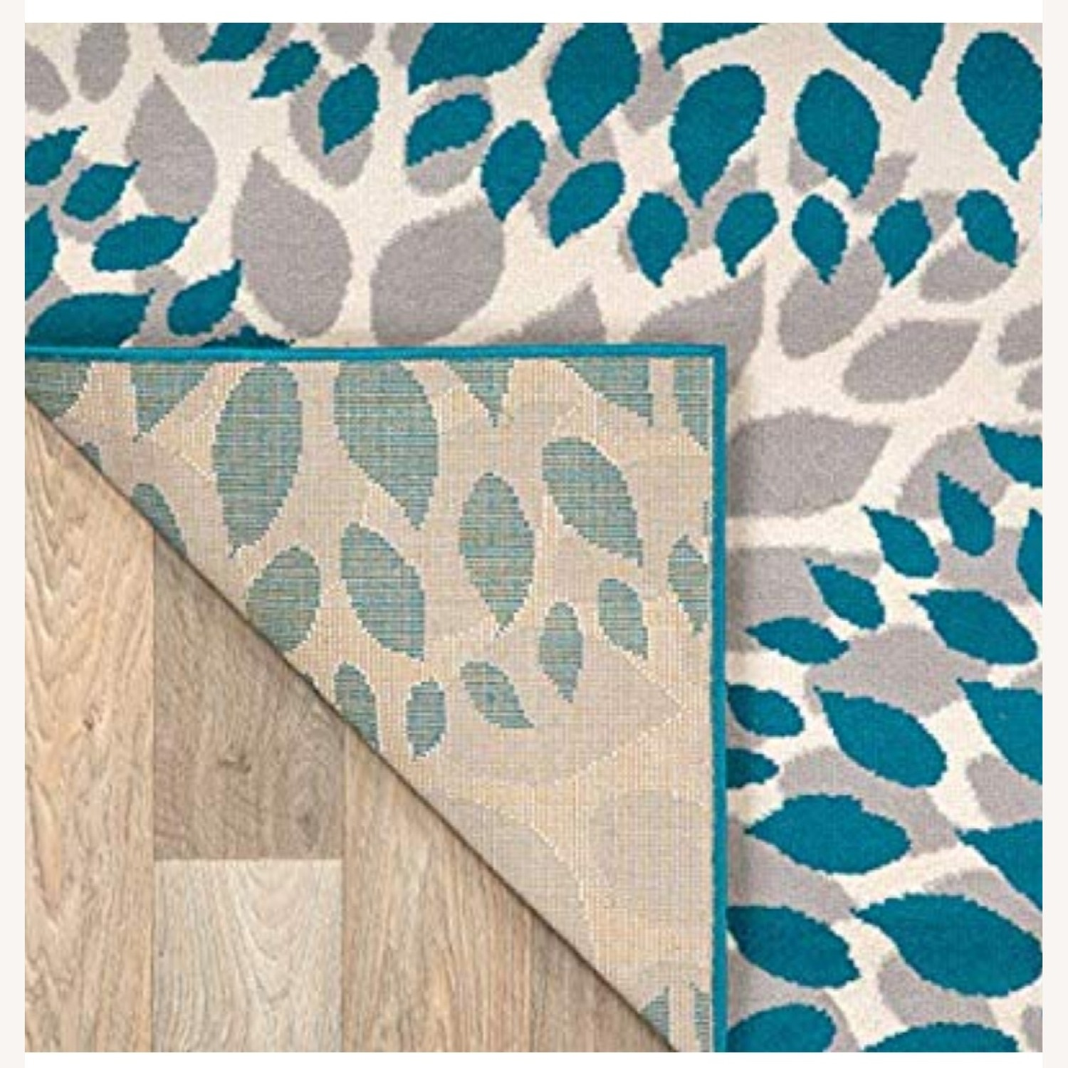 Safavieh Gray and Teal Area Rug - image-3