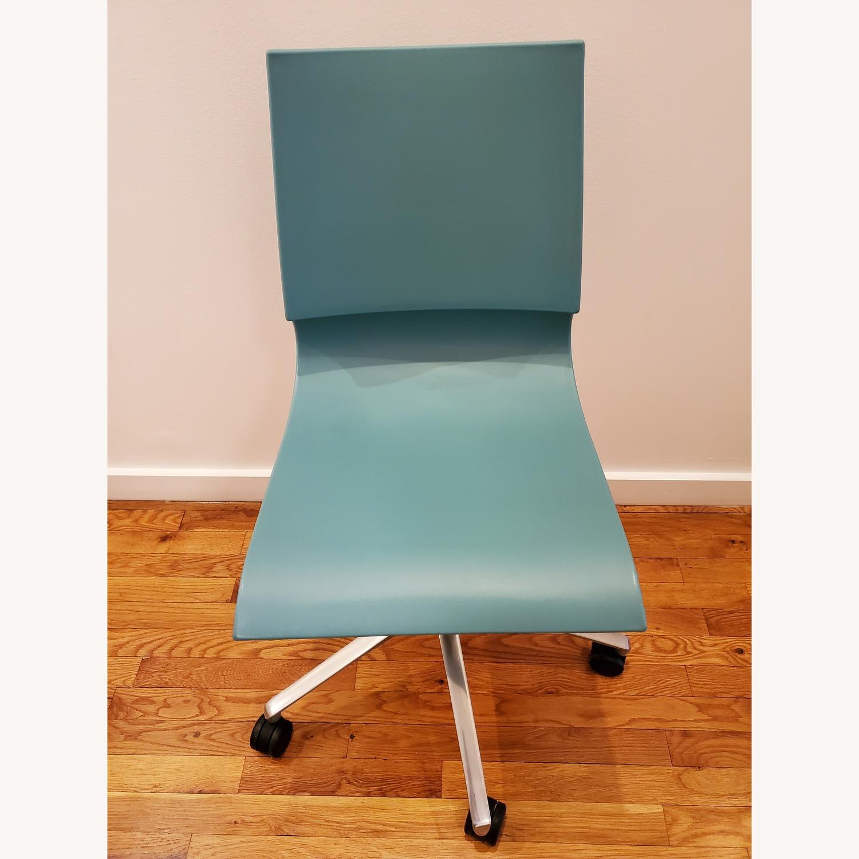 Knoll Max Maran Seafoam Swivel Chair - image-1