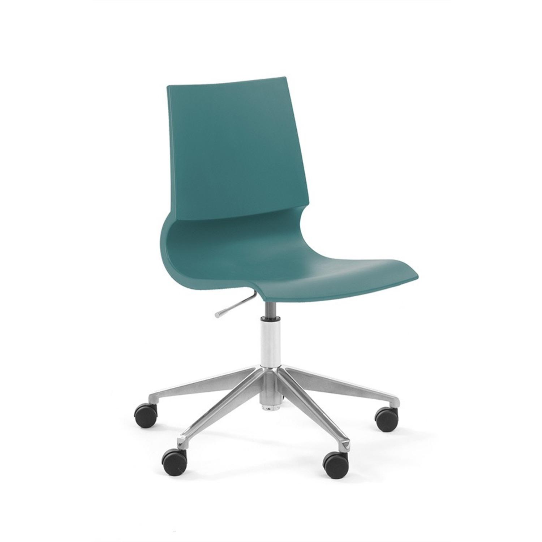 Knoll Max Maran Seafoam Swivel Chair - image-0