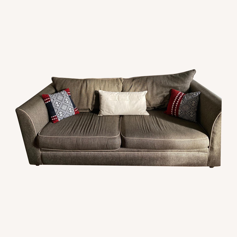 Cort Saatchi 3 seater sofa in Brown/Beige
