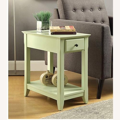 Used Light Green Side Table for sale on AptDeco