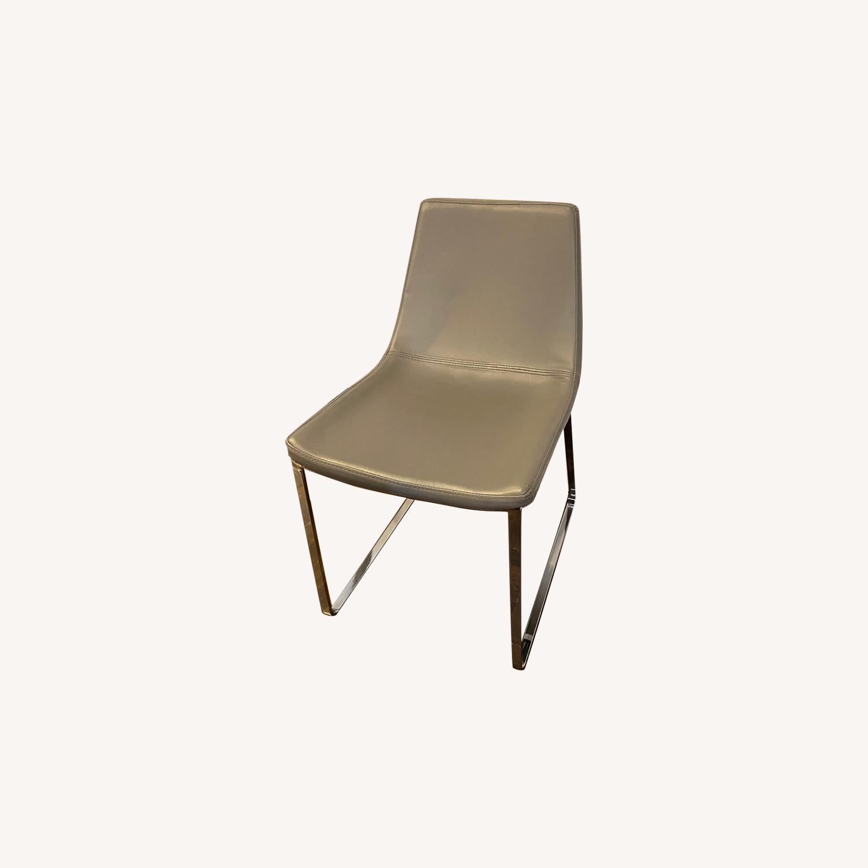 Modani Grey Modern Dining Chairs