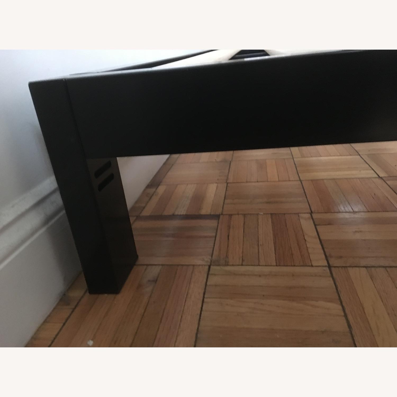 Black Metal Frame Bed