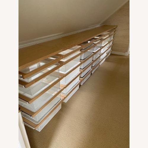 Used Elfa International Wall Unit in Birch for sale on AptDeco