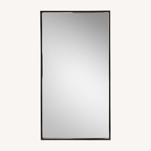 Used Restoration Hardware Brass Metal Dovetail Mirror for sale on AptDeco