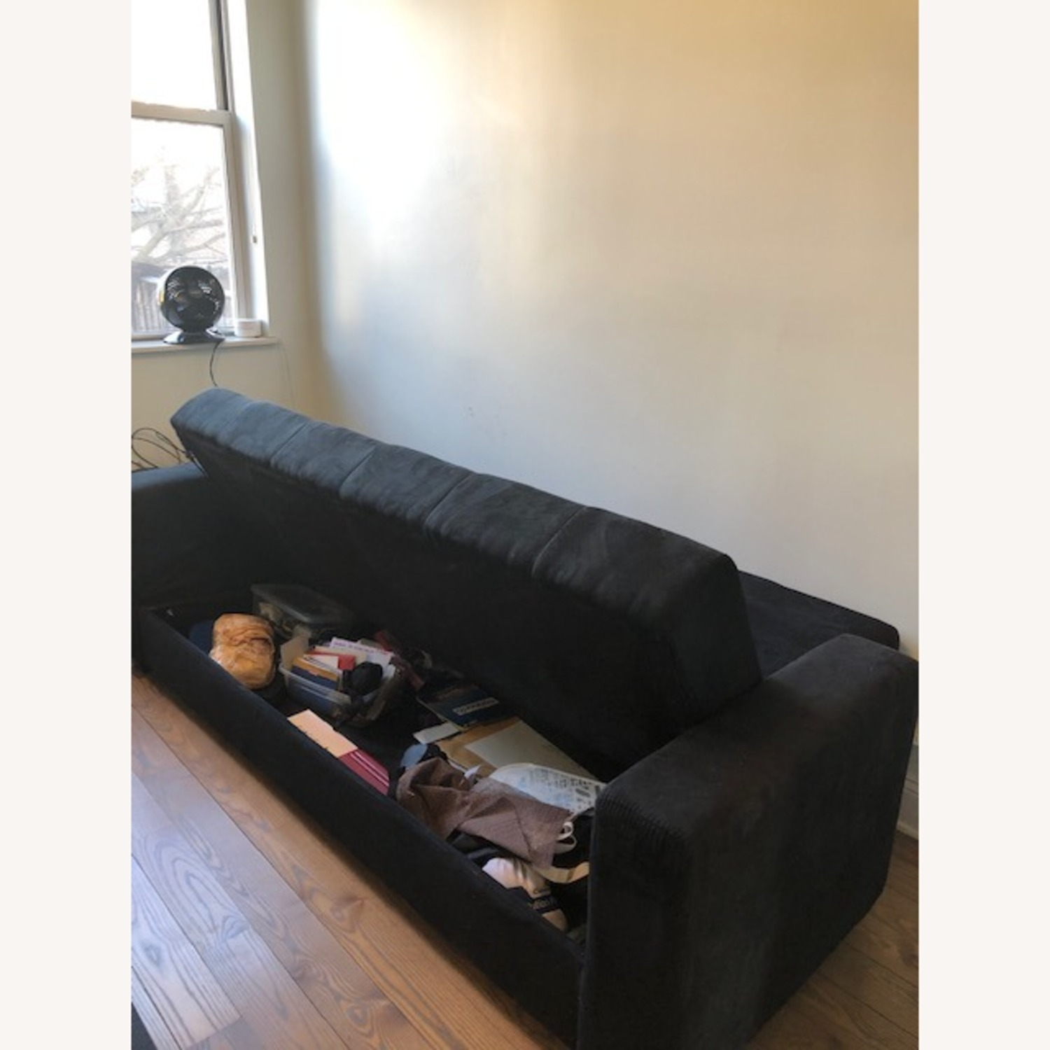 Lifestyle Solutions Futon with Storage - image-3