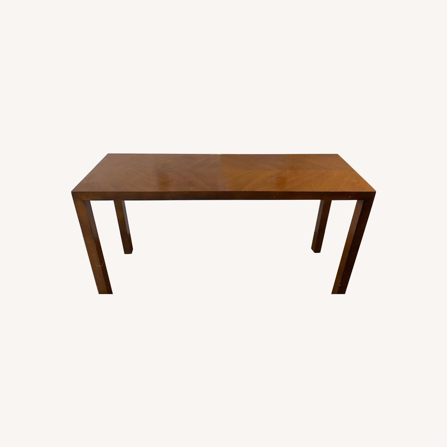 Lane Parsons Table Exquisite Solid Wood Pattern - image-0