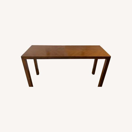 Used Lane Parsons Table Exquisite Solid Wood Pattern for sale on AptDeco