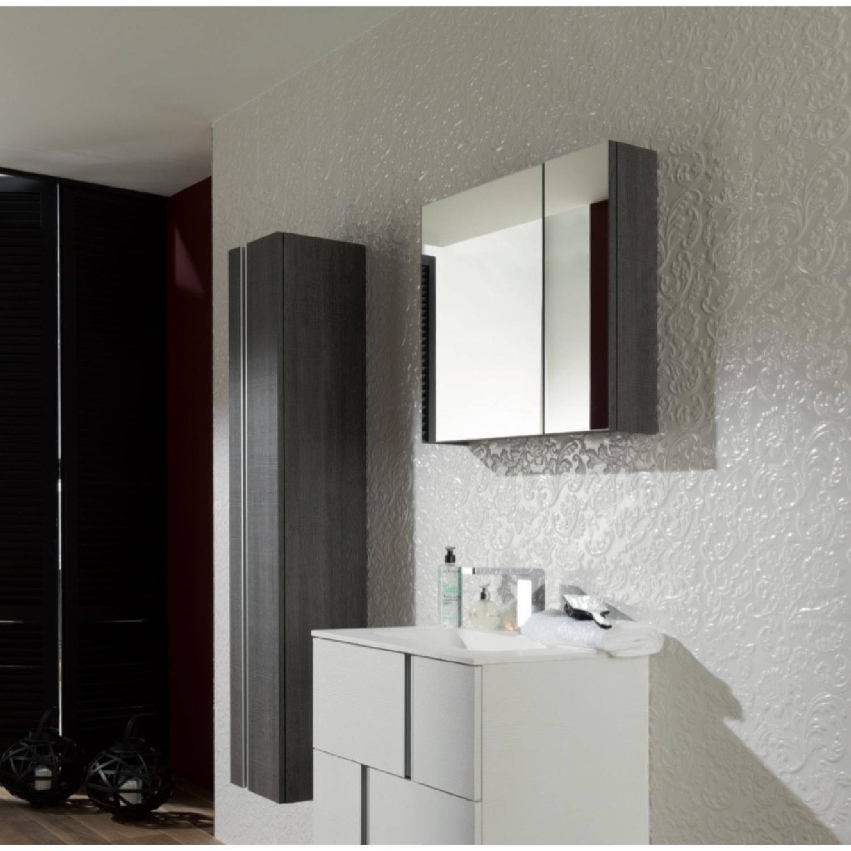 Medicine Cabinet Fume Finish Mirror Porcelanosa usa