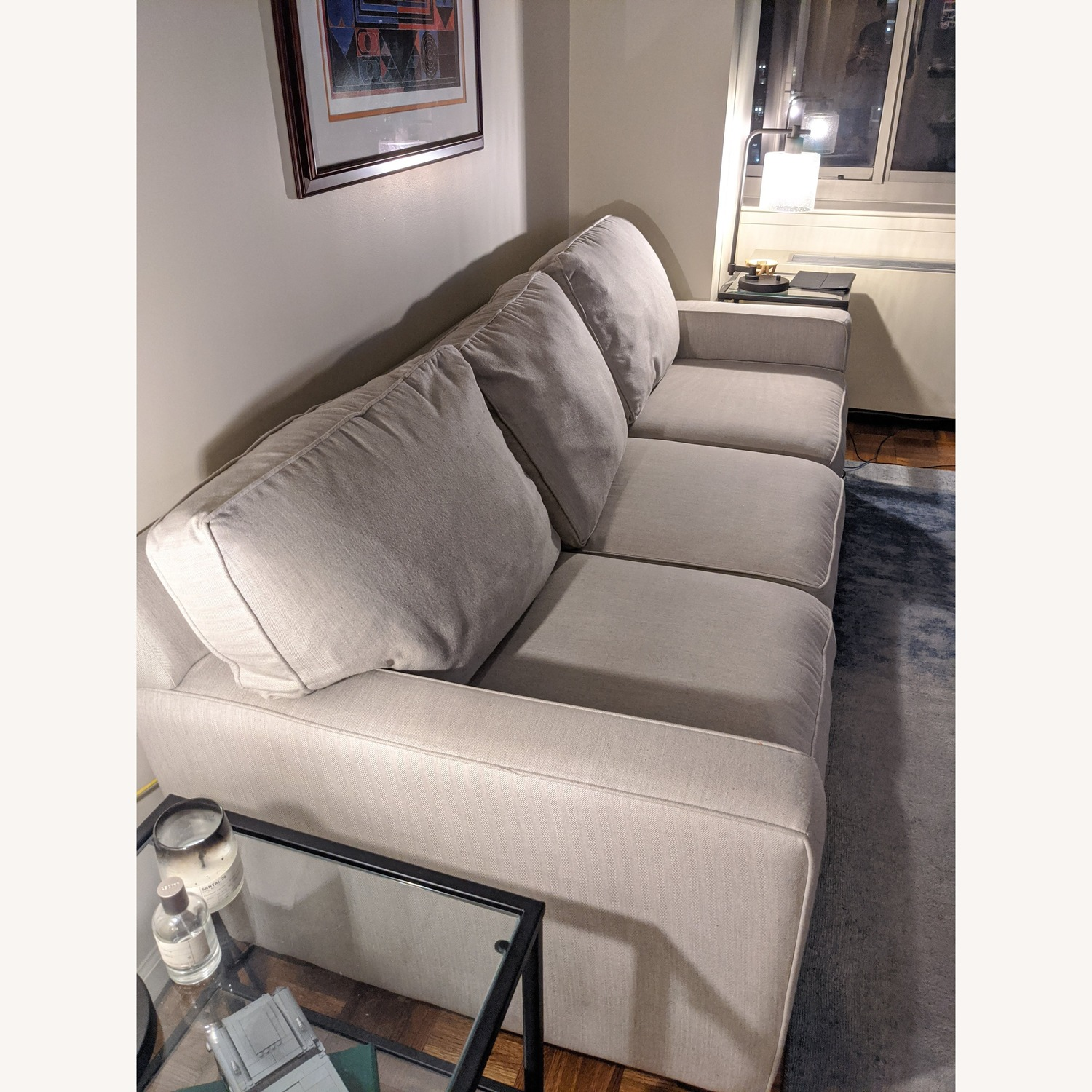 Pottery Barn Buchanan Square Arm Upholstered Couch - image-3