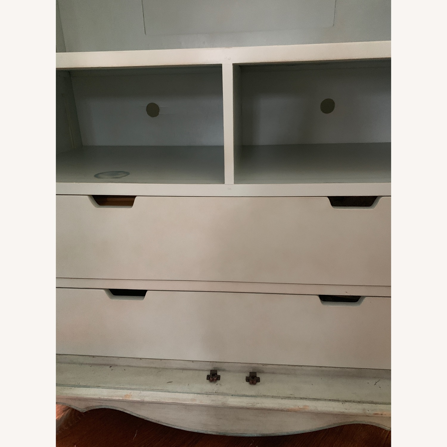 Distressed Painted Armoire - image-7